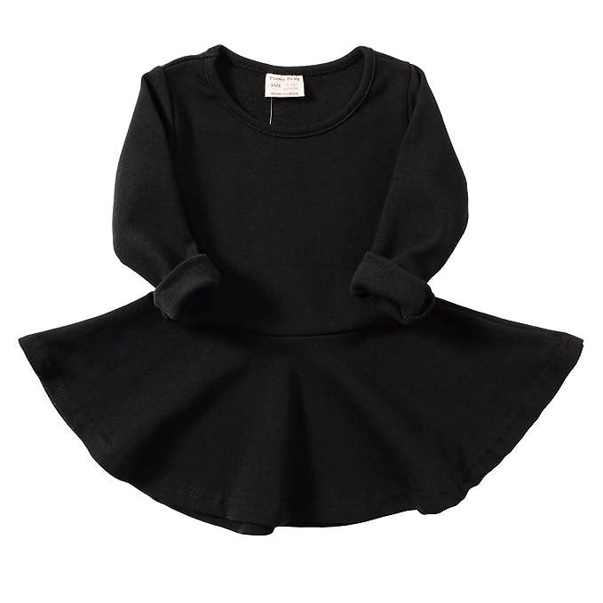 Vestido elegante color negro para niñoshttps://amzn.to/2QCSM7j