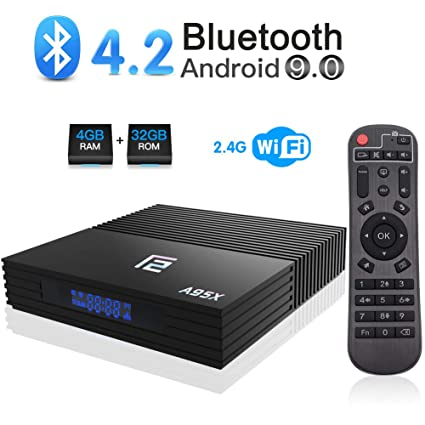 Amazon.com: Android 9.0 TV Box, A95X F2 Android Box 4GB RAM 32GB