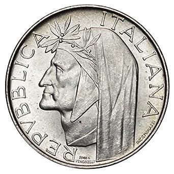 Italia 500 Lire Argentodante 11 Gr 29 Mm Anno 1965