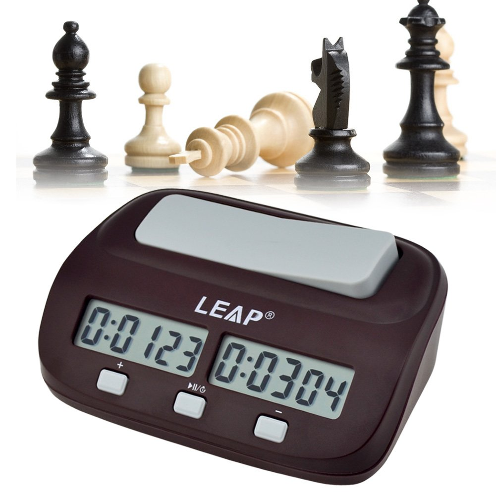 CkeyiN Chess Clock, Professional Multifunctional Digital Chess Clock