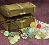 Product review for American Coin Treasures Kid's Treasure Chest with Replica Pirate Coins/Foreign Coins/Gems/Necklace Coin Jewelry