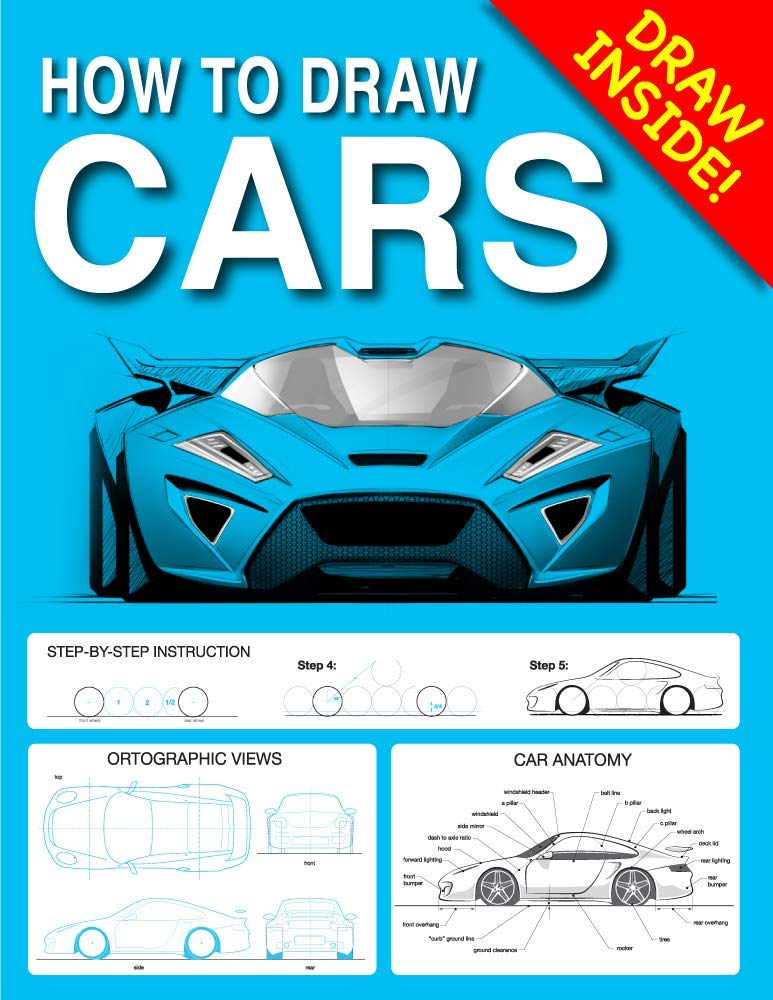 How to Draw CARS Sketchbook: Mark Kokavec, Render Demo, Mark ...