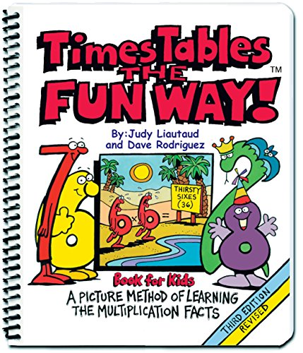 Times Tables the Fun Way Book for Kids: A Picture Method of Learning the Multiplication Facts