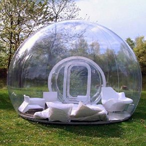 Bubble-Tent-Outdoor-Inflatable-Family-Camping-Tent-with-Single-Tunnel-Used-As-Backyard-Transparent-Tent-with-Blower-and-Air-Pump
