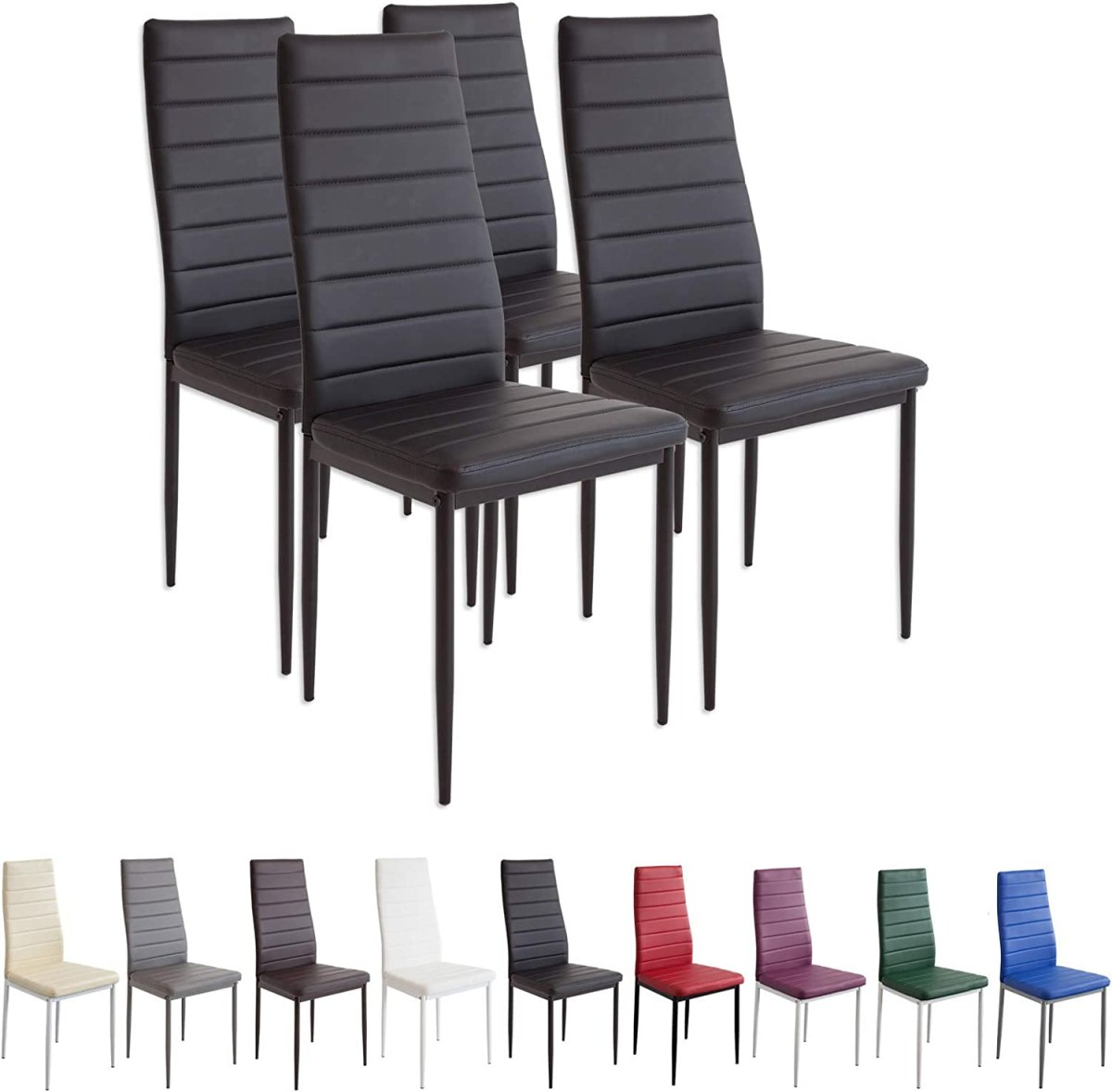 Set 4 sillas comedor