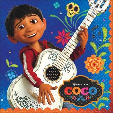 Disney Pixar Coco Birthday Party Supplies Party Pack for 16 guests ...