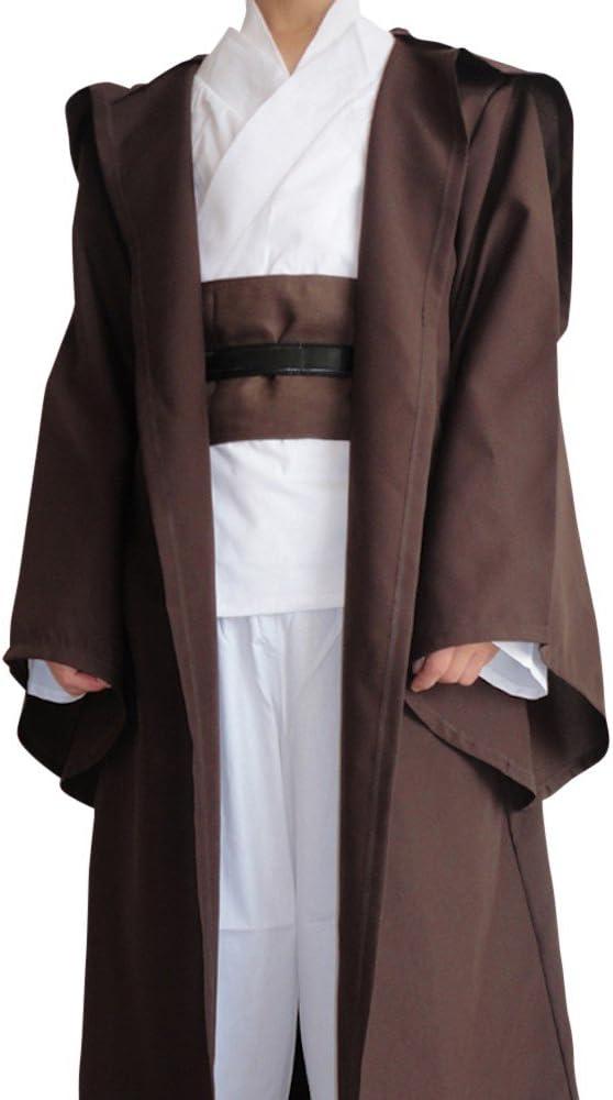 shoperama Cape pour costume d'Obi-Wan Kenobi dans La Guerre des étoiles Pour homme