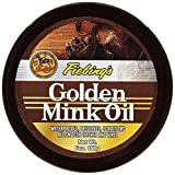 Fiebing's Golden Mink Oil Leather Preserver, 6 oz - Waterproofs, Preserves and Conditions Leather and Vinyl