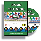 Learn to Quilt for Beginners on DVD, Basic Training is a How To Quilt as You Go Video Series from Patchwork...