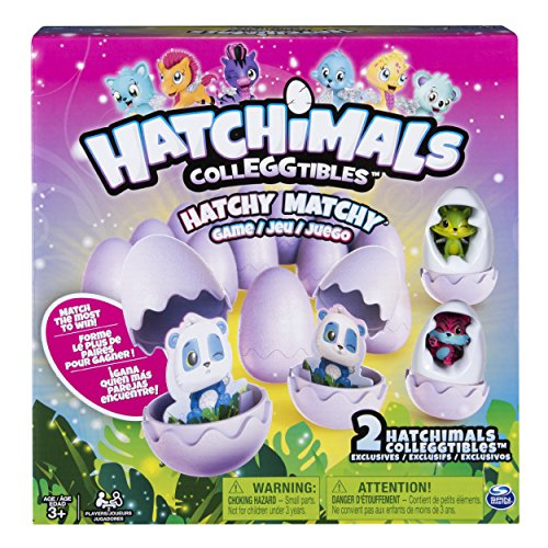 Spin Master Games Hatchimals - Hatchy Matchy Game with Two Exclusive Colleggtibles