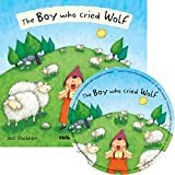 The Boy Who Cried Wolf (Book & CD) (Flip-Up Fairy Tales)