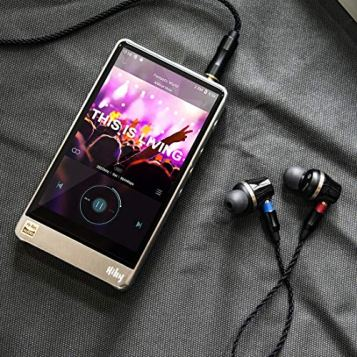 HiBy R6 Pro Hi-Res Audio Player, High Resolution Music Player with atpX HD/LDAC/Bluetooth/DSD/Tidal/Spotify/Android 8.1/5G WiFi/4.4 Balance Output, HiFi Lossless MP3 Player with Touch Screen