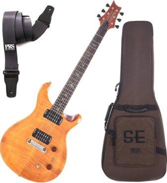 PRS Paul Reed Smith 103495 SE ''Paul's Guitar'' Electric Guitar (Amber) w/Gig B