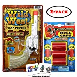 JARU Wild West Cap Gun with Refill Pack and 2 GosuToys Stickers