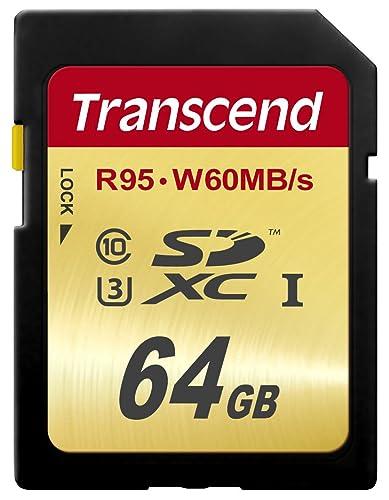 Transcend SDXCカード 64GB UHS-I U3対応