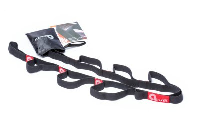 Yoga EVO Elastic Strap for Stretching with 10 Loops