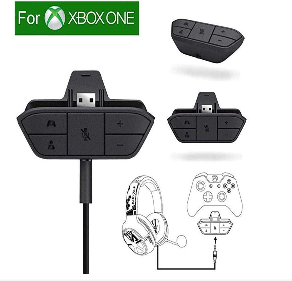 Casque stéréo Audio Jeu Adaptateur pour Microsoft Xbox One contrôleur
