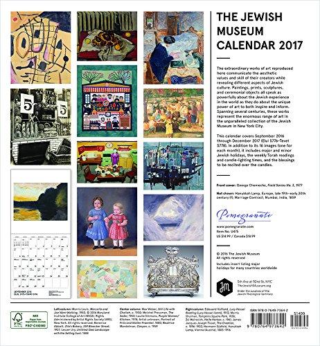 2017 the jewish museum calendar 2017 wall calendar. Black Bedroom Furniture Sets. Home Design Ideas