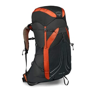 Osprey Packs Exos 48 Backpacking Pack, Blaze Black, Medium