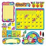 Trend Enterprises Owl-Stars Calendar Bulletin Board Set (TEP8363)