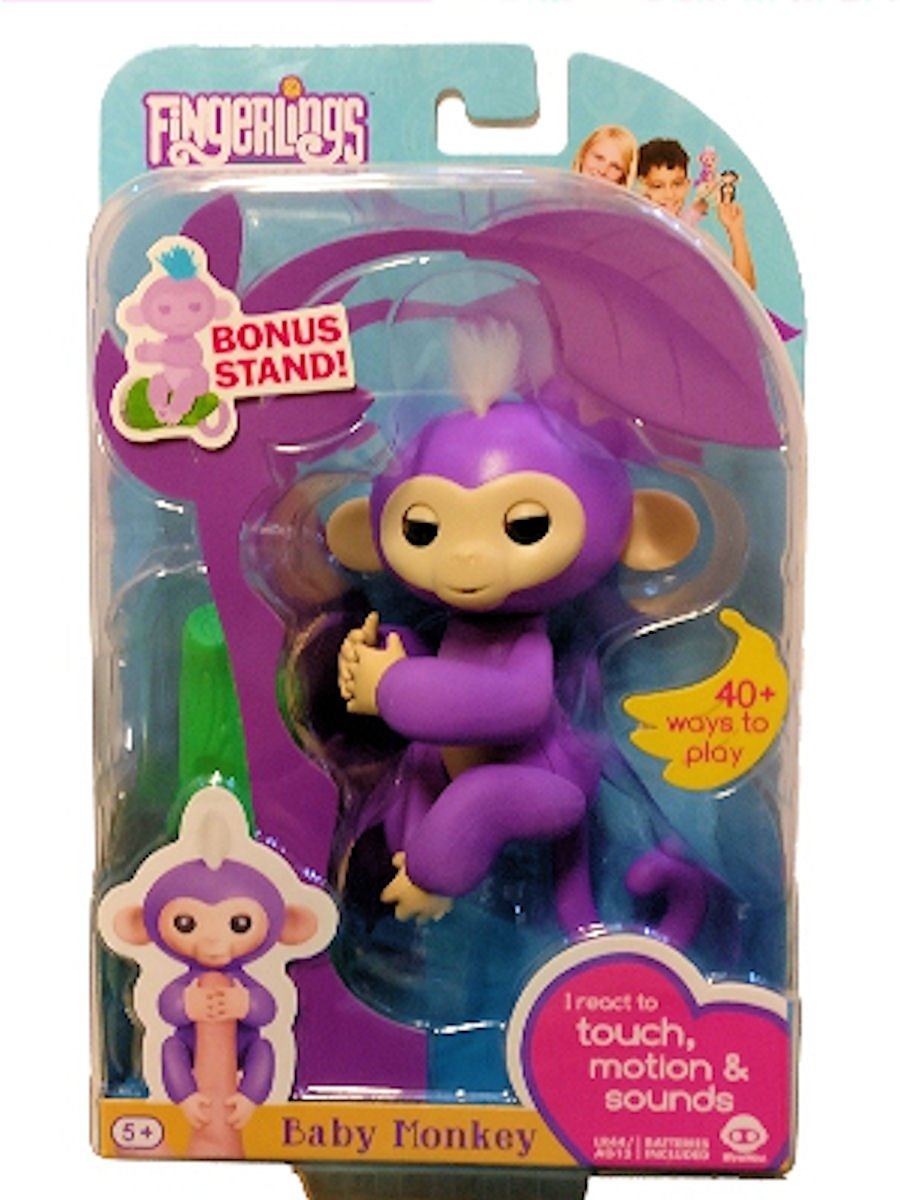 WowWee Fingerlings Mia Purple