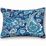 best bags Based On Traditional Asian Paisley Home Decor Wedding Gift Engagement Present Housewarming Gift Cushion Cover 20X30 Inch