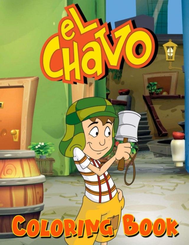 Amazon.com: El Chavo Coloring Book: Interesting coloring book