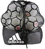 adidas Team Stadium Ball Bag, Black/White, One Size