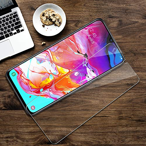 LK-3-Pack-Screen-Protector-for-Samsung-Galaxy-A70-Tempered-Glass-Easy-Installation-Tray-HD-Clear-Case-Friendly-with-Lifetime-Replacement-Warranty
