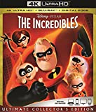The INCREDIBLES 4K Ultra Blu Ray + Blu Ray + Digital Code [Blu-ray]