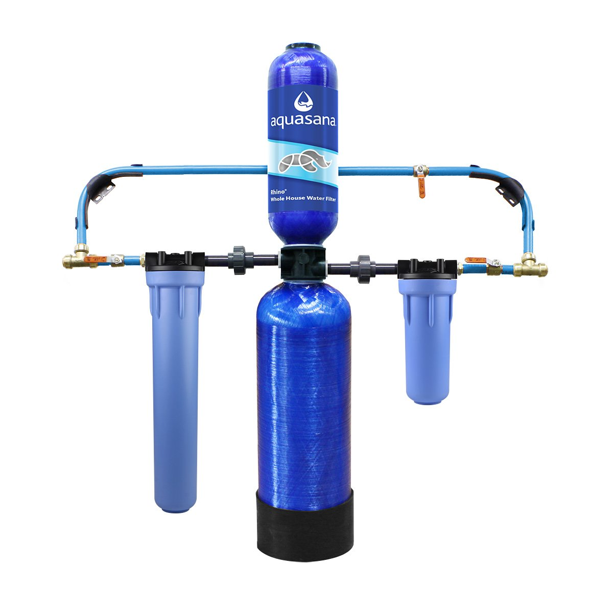 Aquasana 10-Year, 1,000,000 Gallon Whole House Water Filter with Professional Installation Kit