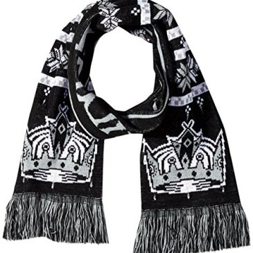 NHL Los Angeles Kings Light Up Scarf, One Size, Black