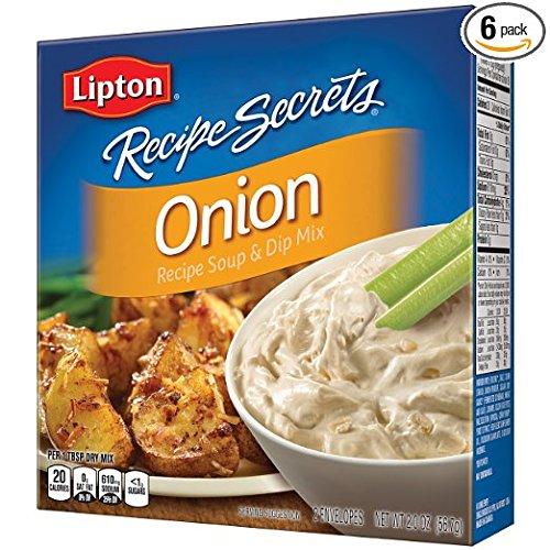 Lipton Recipe Secrets Soup and Dip Mix, Onion Flavor, 2 oz ...