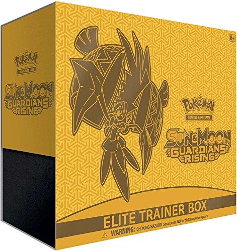 Pokemon Sun & Moon: Guardians Rising Elite Trainer Box, Multicolor
