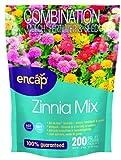 Encap 10806-6 Zinnia Cut Flower Mix, 2 Pounds