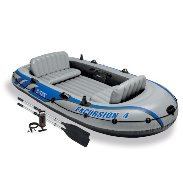 Intex Excursion 4, 4-Person Inflatable Boat