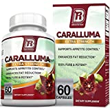 BRI Nutrition Caralluma Fimbriata - Natural Appetite Suppressant & Weight Loss Diet Pills - 1000mg, 30-Day, 60 Count Vegetarian Capsules