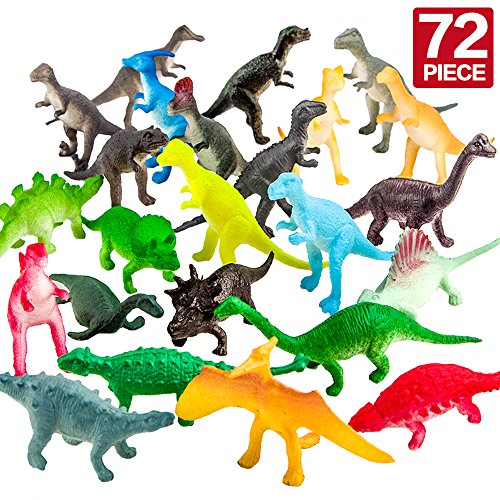 72-Piece Dinosaur Toy Set - LOW PRICE! *EASTER EGG STUFFERS!*