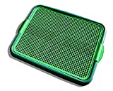 Blyss Pets Klean Paws Indoor Dog Potty, No Torn Potty Pads! Keep Paws Dry! Protect Floors! Easy Cleanup On Pads! for Puppies, Small Dogs & Cats, 1 Puppy Pad Holder Tray, Guarantee