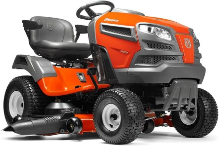 Best electric lawn mower for hills  - Husqvarna YTA24V48