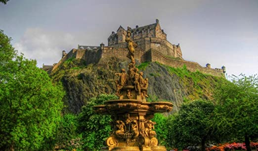 Rompecabezas De 1000 Piezas Para Adultos Castillo De Edimburgo ...