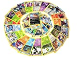 Pokemon TCG : 50 CARD LOT RARE, COMMON, UNC, HOLO & GUARANTEED EX OR FULL ART.