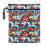 Bumkins DC Comics Wet Dry Bag, Superman Comic