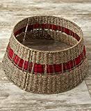 The Lakeside Collection Rattan Christmas Tree Collar -