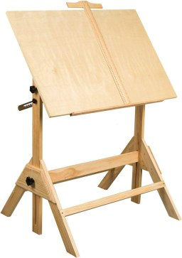 MEEDEN Solid Wood Drafting Table
