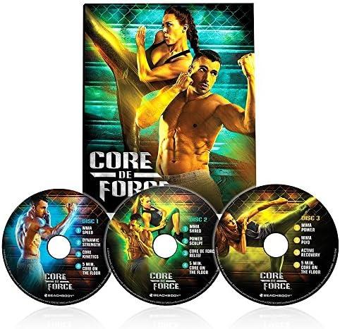 Beachbody CORE DE FORCE Base Kit DVD workout program - MMA inspired - created by 5