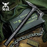 M48 Tactical Tomahawk Axe with Durable Nylon Sheath