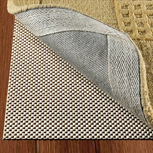DoubleCheck Products Non Slip Area Rug Pad Size 9' X 12' Thick Padding And Extra Strong Grip
