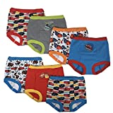 Disney Boys' Toddler Cars 7 Pack Training Pants, Assorted, 3T