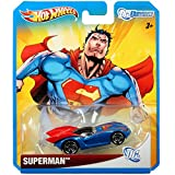 2012 Hot Wheels DC Universe SUPERMAN 1:64 Scale Collectible Die Cast Car